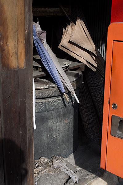 犬山城下古い井戸