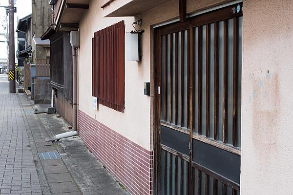 犬山城下昭和の住宅
