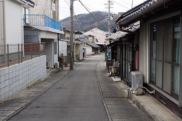 犬山城下裏道風景