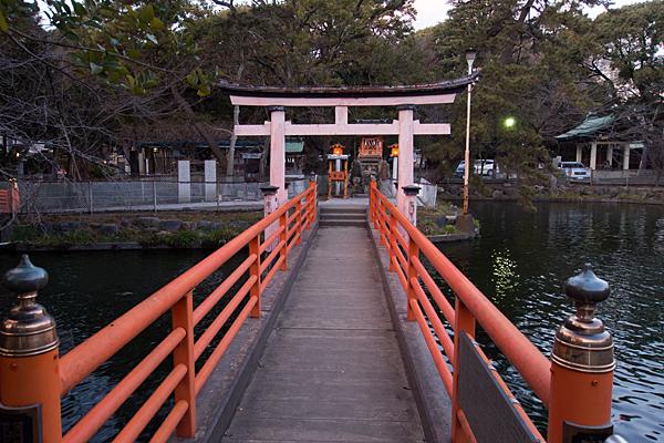 真清田神社厳島社橋