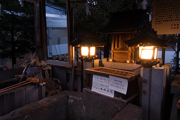 真清田神社神水舎