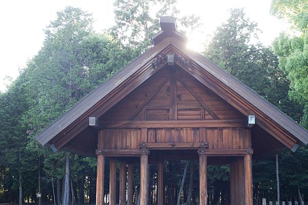 石作神社神楽殿?