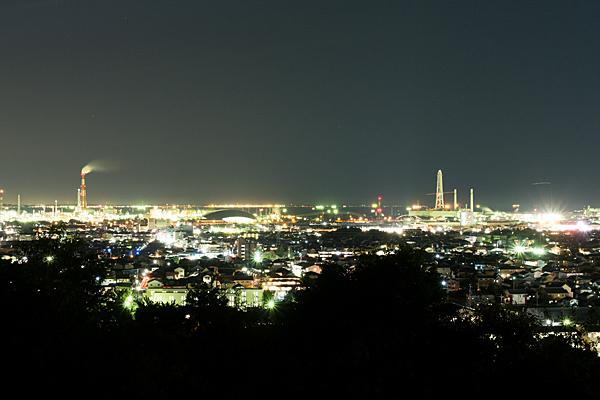 四日市工場夜景垂坂公園
