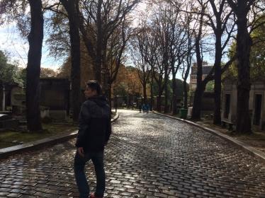 パリお墓参り