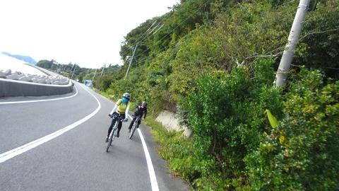 豊島を走ります。