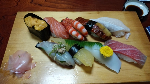 にぎり寿司特上~