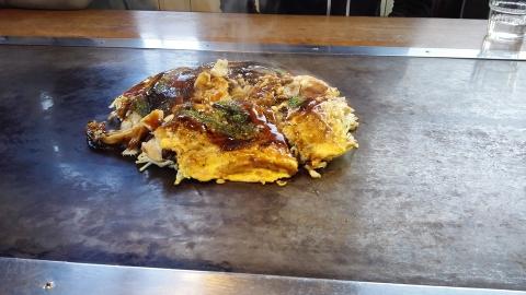因島のお好み焼き、美味しい~♥