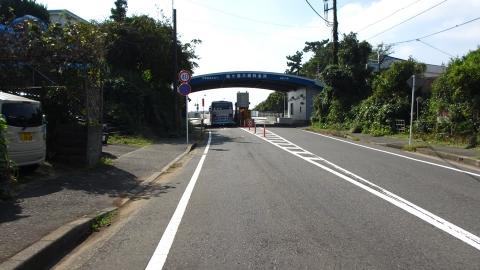 城ヶ島公園へ。自転車は無料で通れます。