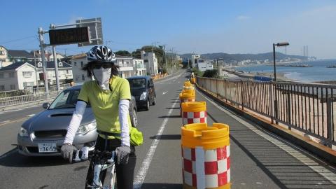 三浦海岸付近、この辺は爽やかで良い!