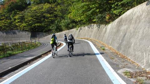 大三島橋のスロープ