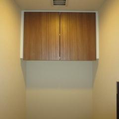 分譲トイレの吊り戸棚イメージ