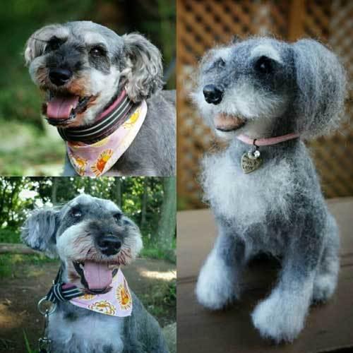 ニコ羊毛犬2910-001