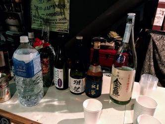 振る舞い酒コーナー