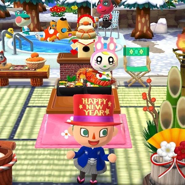 謹賀新年 あけましておめでとう 戌年 ポケ森