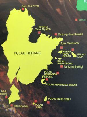 レダン島マップ