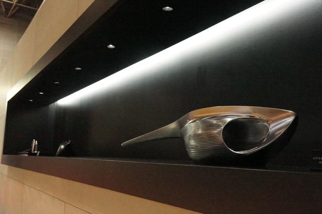 マツダデザインの展示