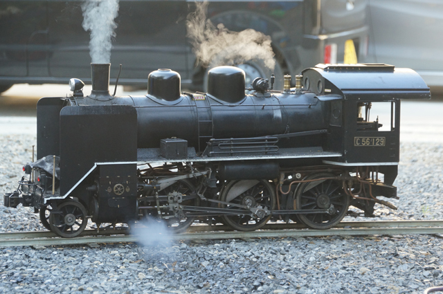 C56 129 ためしの蒸気上げ