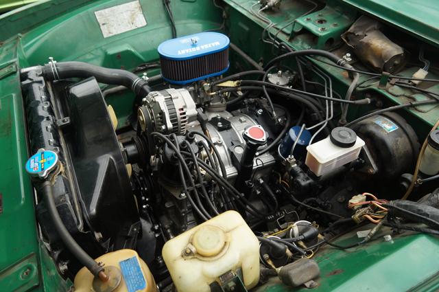 REPUの仕上がったエンジン