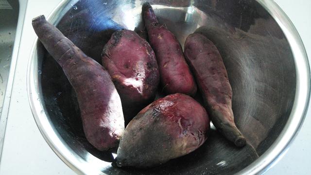 美味しそうな焼き芋