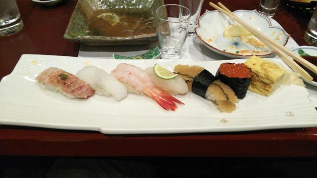 日野南平の寿司正さんで宴会