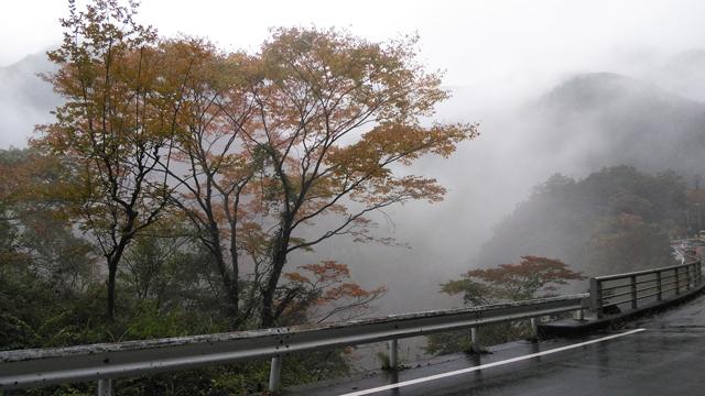 丹波山の紅葉