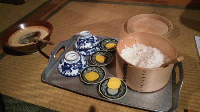 鎌田鳥山、名代麦とろ御飯