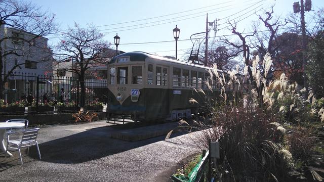 あらかわ遊園に保存されている都電、ちんちん電車、ALWAYS 三丁目の夕日にもでたらしい6152