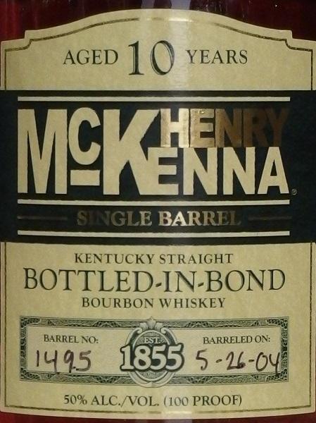 HENRY McKENNA 10yo_L600