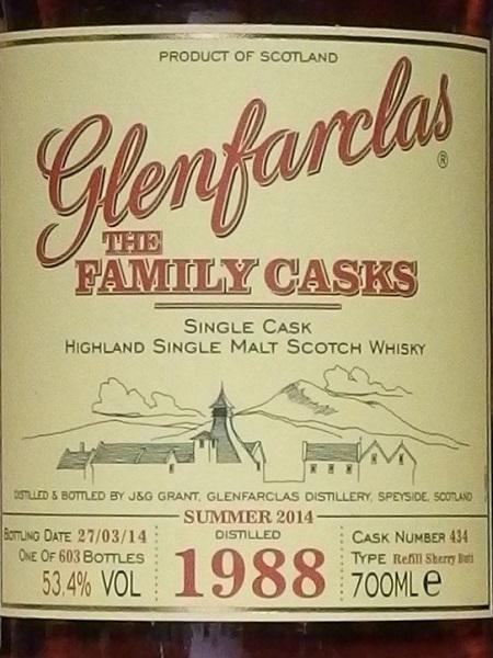 GLENFARCLAS Family Casks 1988_L600
