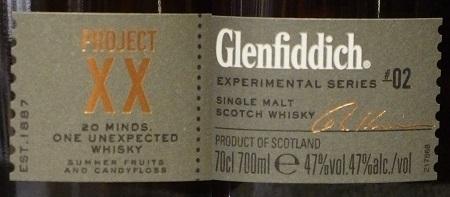 GLENFIDDICH PROJECT XX_L450