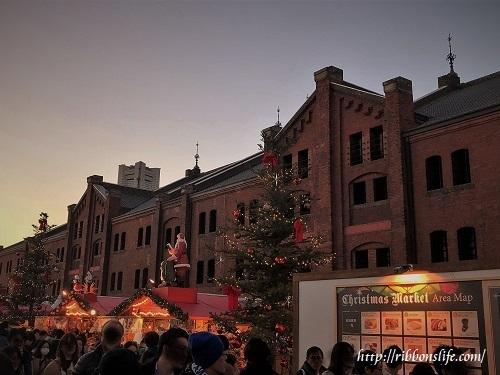 クリスマスマーケット in 赤レンガ倉庫2017