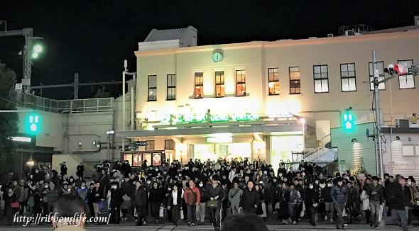 JR上野駅前