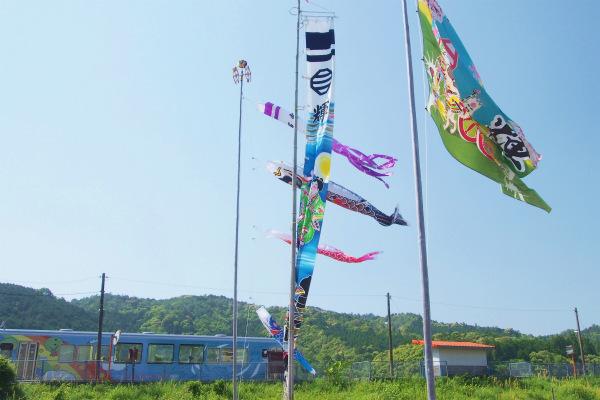黒潮町 市町村ラッピング列車
