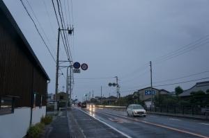 曇天の朝3