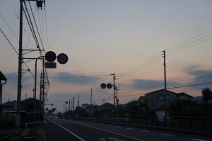 山脈に見える朝日2