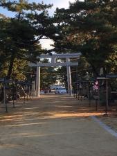 神社の軸線4