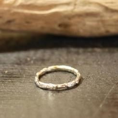 10金 ホワイトゴールド 指輪