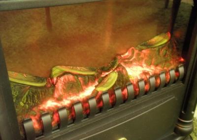 暖炉型ヒーター2