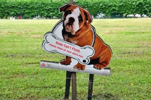 Dog Signboard, Singapore