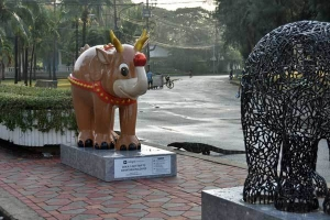 Elephant Parade Bangkok Monitor Lizard
