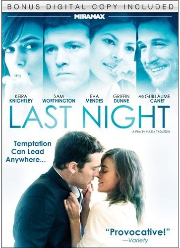 DVD「Last Night」のジャケット