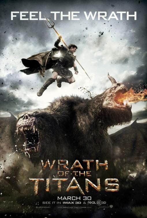 サムの新作「Wrath of the Titans」 のポスター!