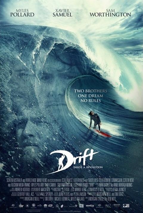 サムの新作「ドリフト」の最新ポスター