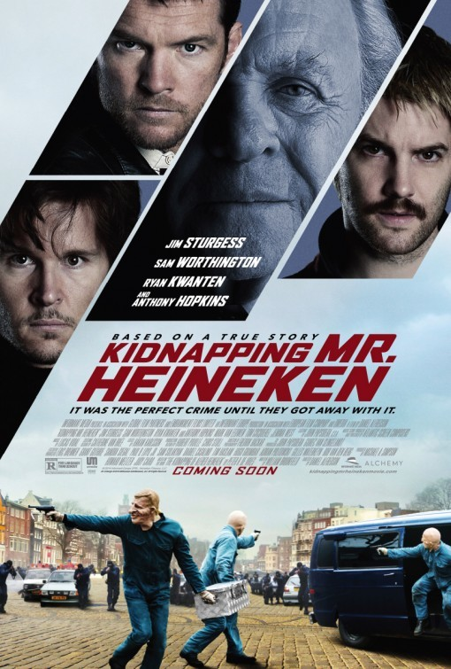 サム出演「Kidnapping Freddy Heineken」のポスター