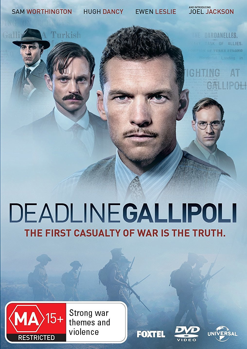 サム出演Deadline Gallipoli のDVD