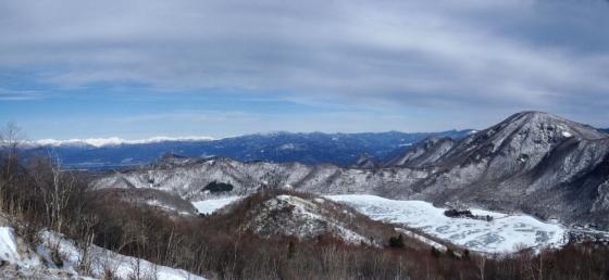 地蔵岳にて-1