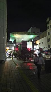 20170812夜の商店街(その1)