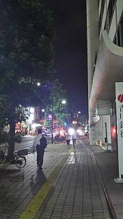 20170812夜の商店街(その2)