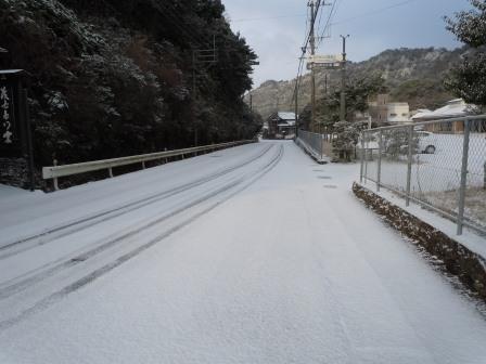 雪の朝1(2018-02-04)