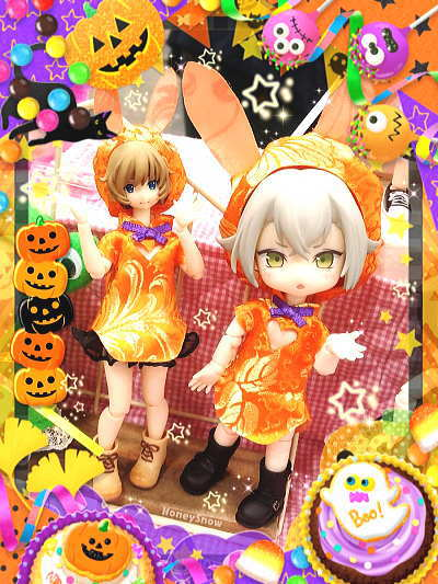 Happy Halloween !! HoneySnow